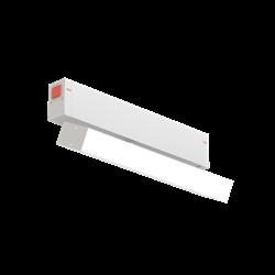 Трековый линейный SPOT С25 SMART DIM 10W CREE CRI90 3000K - 6000К, White Opal L220х25х105mm