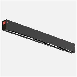 Трековый светильник линейный С25 Black mask SMART DIM 20W OSRAM CRI90 3000K, Black L400x24x34mm
