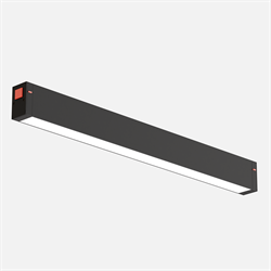 Трековый светильник линейный С25 SMART DIM 20W OSRAM CRI90 TRIX 3000-6000K, Black L400x24x34mm