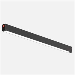 Трековый светильник линейный С25 SMART DIM 30W OSRAM CRI90 TRIX 3000-6000K, Black 600x24x34mm