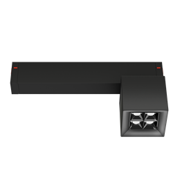 Светильник светодиодный магнитной трековой системы С25 X-SPOT 8W 4x2W OSRAM CRI90 3000K, Black 62х62x62mm