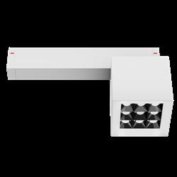 Светильник светодиодный магнитной трековой системы С25 X-SPOT 18W 9x2W OSRAM CRI90 3000K, White 81х81x81mm