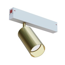 Светильник трековый spot  магнитной трековой системы С25 COLT MR16 GU10, Gold L100х55mm