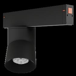 Светильник светодиодный магнитной трековой системы С25 VIEW MOON 10W CRI85 4000K, Black L100х70mm