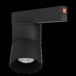 Светильник светодиодный магнитной трековой системы С25 VIEW MOON 20W CRI85 3000K, Black L110х95mm