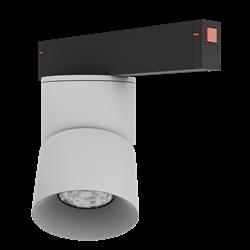 Светильник светодиодный магнитной трековой системы С25 VIEW MOON 20W CRI85 3000K, White/Black L110х95mm