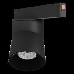 Светильник светодиодный магнитной трековой системы С25 VIEW MOON 30W CRI85 4000K, Black L115х110mm