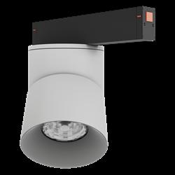 Светильник светодиодный магнитной трековой системы С25 VIEW MOON 30W CRI85 4000K, White/Black L115х110mm