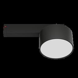Светильник светодиодный магнитной трековой системы С25 RONDO 12W CRI85 4000K, Black ?120