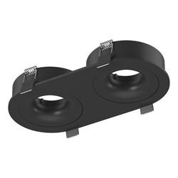 Корпус встраиваемого светильника Lumker Combo-2S2-2R2-BL 004161